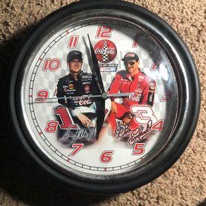 NASCAR Dale and Dale Jr clock